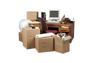 Коробки и офисный переезд
