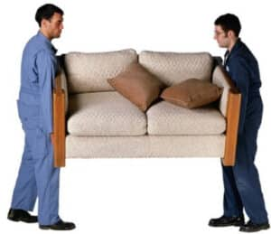 Погрузка дивана