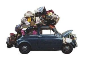 Перевозка вещей при дачном переезде
