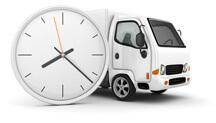 Часы и автомобиль Газель